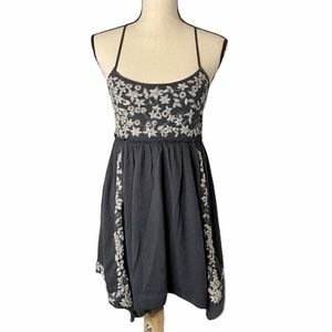American Eagle Embroidered Mini Dress